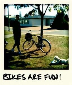 bikes are fun