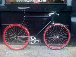 Gerry's new bike
